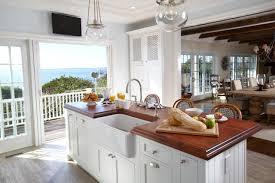 Beach Cottage Kitchen Atkaus House Backsplash Kass.us Within Ideas