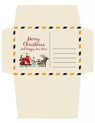 Santa envelope template printable #28: How To Write A Letter To Santa Claus Plus Free Christmas Printables Marcie In Mommyland