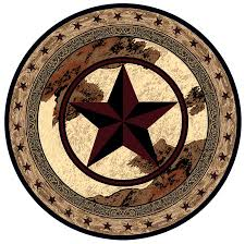 ranger hideout round rug