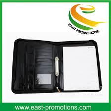 China Zipper A4 A5 Pu Leather Planner Organizer Agenda