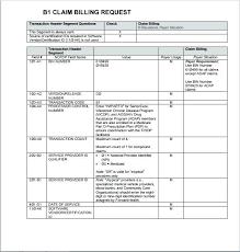 Sample Medicare Claim Form Templates Printable Medical Forms