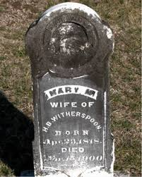 """Mary Margaret """"Polly"""" Carpenter Witherspoon (1818-1900) - Find A Grave  Memorial"""