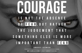 Facing Fear Quotes Best Quotes On Fear 48 Great Picture Quotes On Overcoming Fear