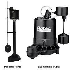 sump pump buying guide pedestal sump pump and submersible sump pump