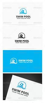 swimming pool logo design. Swim Pool Logo Design Template Vector #logotype Download It Here: Http:// Swimming A