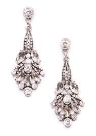 winter wonderland chandelier earrings 1