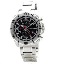 mens citizen quartz chronograph watch an3490 55e