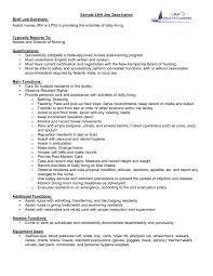 Job Description Examples For Resume Duties Starengineering Objective ...