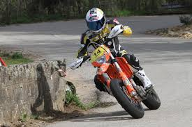 thierry canazzi is riding a ktm exc400 with street legal goldspeed