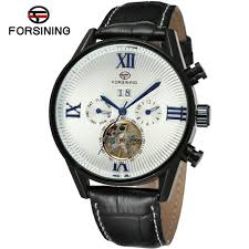 <b>Forsining</b> A566 Men'S Fashion Casual <b>Tourbillon</b> Automatic ...