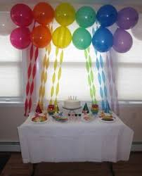 rainbow crepe streamers and balloons birthday direct has awesome