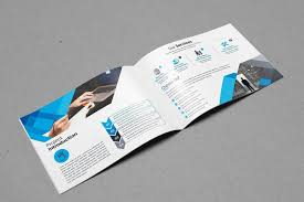 How To Design A Bifold Brochure Landscape Bifold Brochure Template Design Graphic Templates