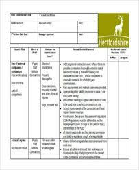 Risk Assessment Form Samples - 33+ Free Documents In Word, Pdf, Xls