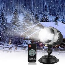 Snow Light Snowfall Led Light Projector Sanwsmo Christmas Snow Light Snow Falling Projector Lamp Dynamic Snow Effect Spotlight For Garden Ballroom
