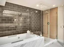 bathroom subway tile ideas. Elegant Subway Tile Bathroom Within Brown Home Designing Inspiration 11058 Decor 18 Ideas