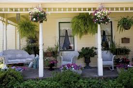 Front Door And Plant Color Combos  HGTVContainer Garden Ideas For Front Porch
