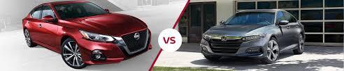 Nissan Altima Comparison Chart Compare Nissan Altima Against Honda Accord Premier Nissan