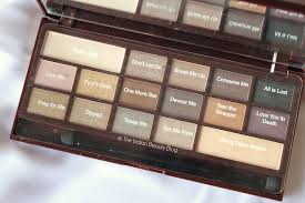 makeup revolution by chocolate palette review swatches