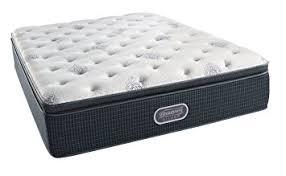 king pillow top mattress. Simmons Beautyrest Silver Plush Pillow Top Mattress, Air Cool Gel Memory Foam, Pocketed Coil King Mattress Y