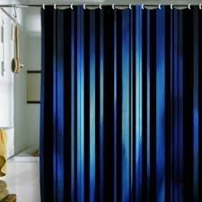 teal striped shower curtain. deep blue and black striped shower curtain! all rights reserved teal curtain w