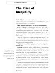 ENG       Short Stories   URI   Course Hero   pages The Price of Inequality