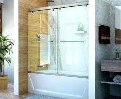 full size of trackless frameless bi fold tub shower doors veilr glass for home depot
