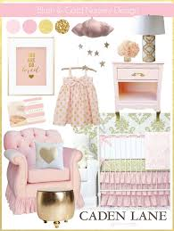 sweet blush and gold nursery design caden lane together with pink and gold baby bedding