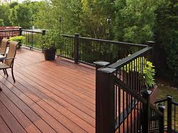 metal handrails for deck stairs. horizon composite decking and railing, shown in rosewood mission profile black with. deck railingsstair railingiron metal handrails for stairs 9
