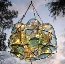 mason jar pendant lamp with yellow rays of light