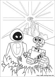 Small Picture Wall E coloring pages on Coloring Bookinfo