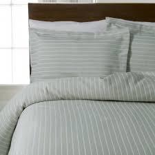 design port stripes khaki green 100 cotton bedding