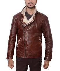 maroon waxed faux leather biker jacket
