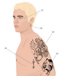 Full Guide To Justin Biebers Tattoos Meaning Birthday