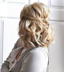 Modele Chignon Mariage Cheveux Mi Long