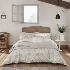 william morris pure lodden chalk eggshell bedding