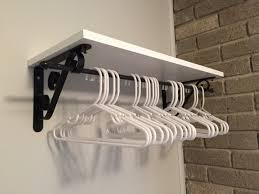Storage For Bedrooms Without Closets Solution For Bedroom Without A Closet Brackets Board And Cafe