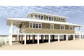 2621 sq ft beachfront house plan 116 1003