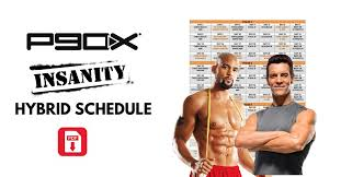 bine p90x and insanity with the p90x insanity hybrid schedule