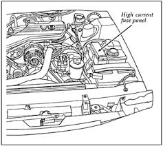 solved 1999 cougar where is the fuel pump relay located fixya in the fuse panel underhood check the position 13fl 20amp for fuel pump