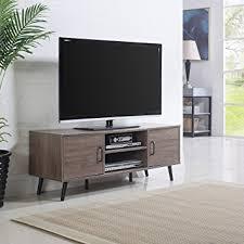 modern tv stand. mid century modern tv stand (ash) tv o