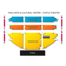 Maui Arts And Cultural Center Seating Chart Maui Arts And Cultural Center 2019 Seating Chart