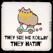 They See Me Rollin They Hatin Emoji Facebook Pusheen Emoji Ridin Dirty 9gag