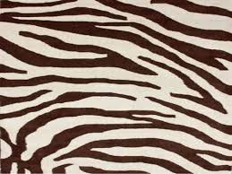 rugs usa safari contemporary zebra print with faux silk highlights round zebra rug