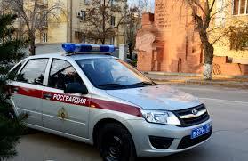 Федеральная служба войск национальной гвардии Российской Федерации  Волгограда поступила в городской отдел вневедомственной охраны Росгвардии около полуночи Группа задержания в составе сержантов