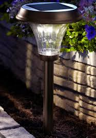 Moonrays 91754 Richmond Solar Light Metal Path Light With 25x
