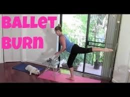 full length barre workout ballet burn cardio ballet barre burn toning sculpting abs