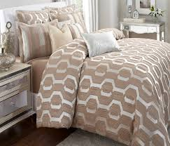 image of contemporary bedding beige color