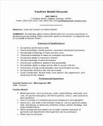 Model Resume Custom Modeling Resume No Experience Rustic Model Resume Templates For Ms