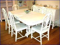 full size of white distressed dining table com intended for room black and chairs distre home