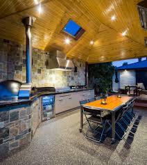 Kitchen Patio Patio Kitchen Design Photo White Wooden Pergola Brick Stone Bbq